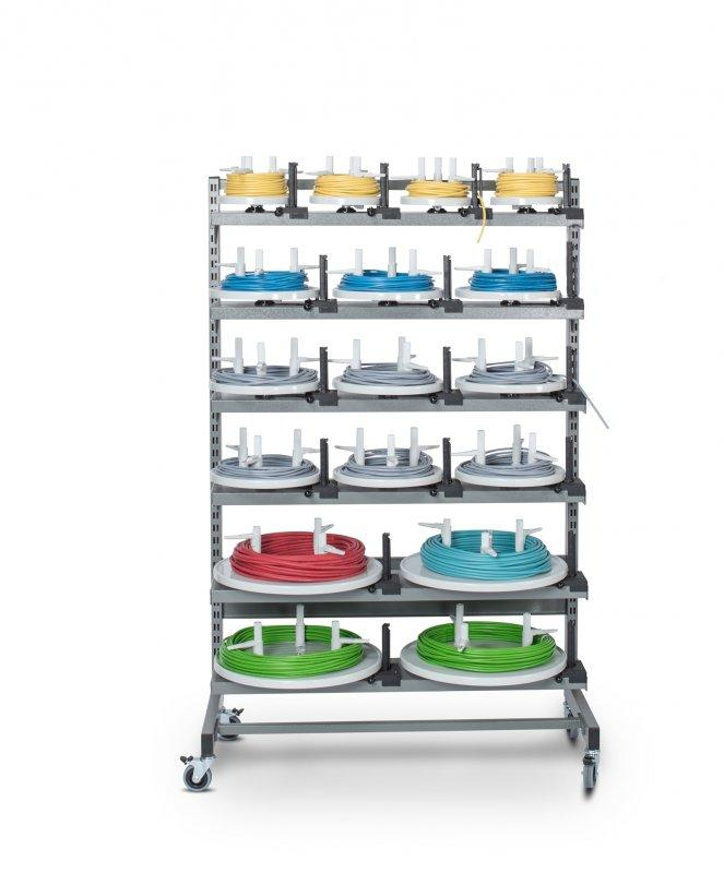 MATBOI 450 storage system for cable rings - storage shelf for cable rings