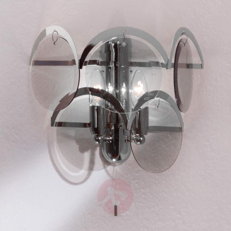 Carolo Wall Light Attractive Two Bulbs - Wall Lights