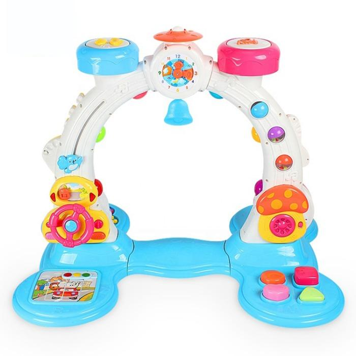 baby gym frame multifunction touch sensitive indoor activity -  multifunction touch sensitive indoor activity gym toy for kids