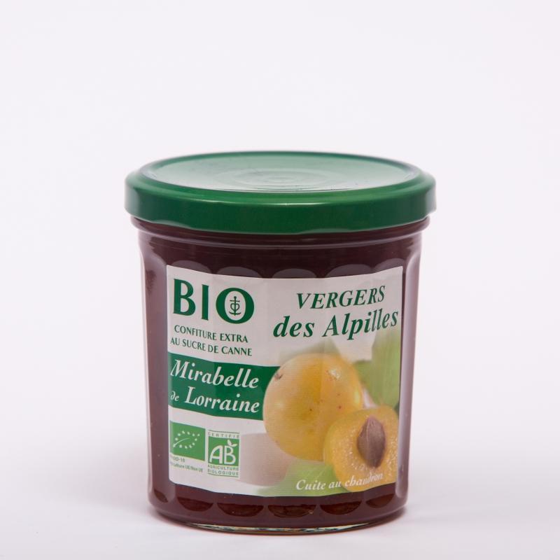 Vergers BIO - Mirabelle de Lorraine - Confitures Biologiques au sucre de canne