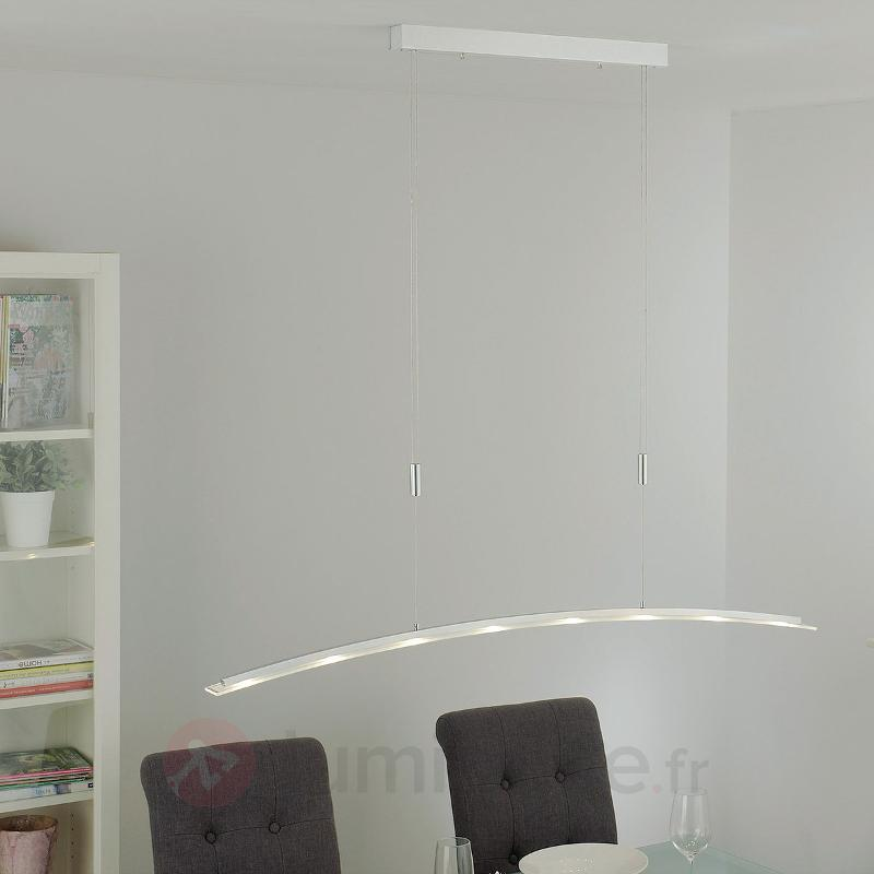 Suspension LED Juna, hauteur réglable, 136 cm - Suspensions LED