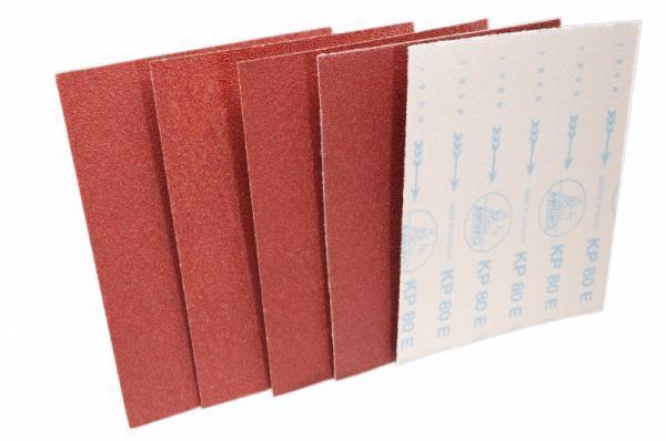 Schleifbogen für Holz / Fußboden, Lack / Farbe KP80E Klett - Körnungen: P24, P36, P40, P50, P60, P80, P100, P120, P150