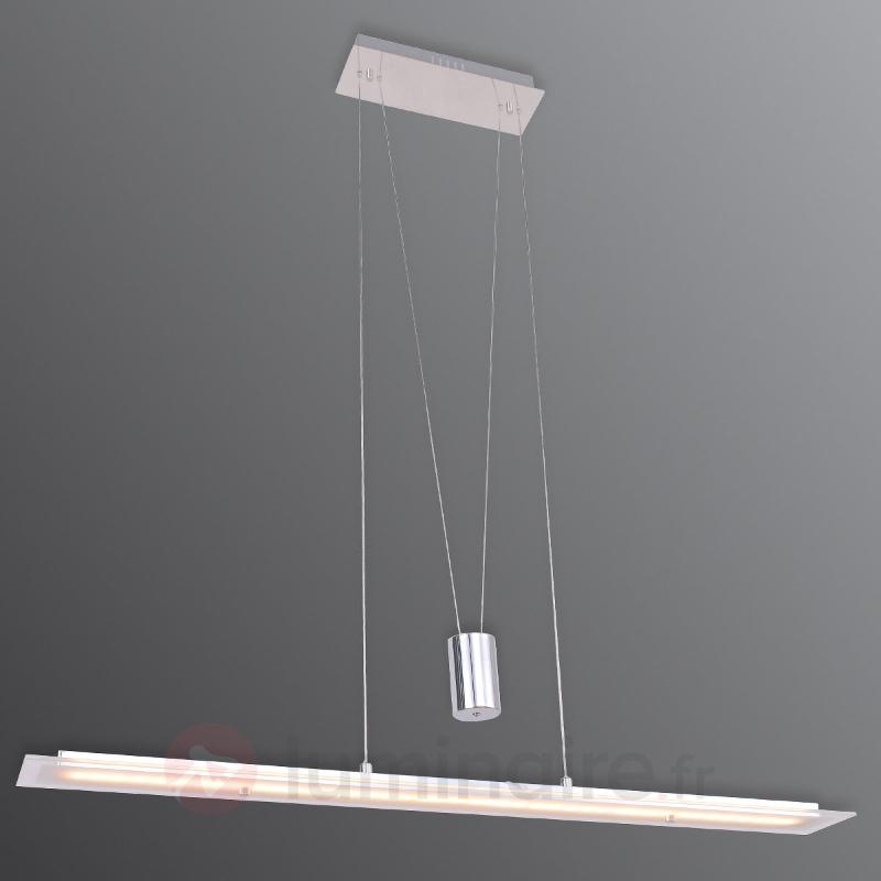Suspension LED Malak, à hauteur ajustable - Cuisine et salle à manger