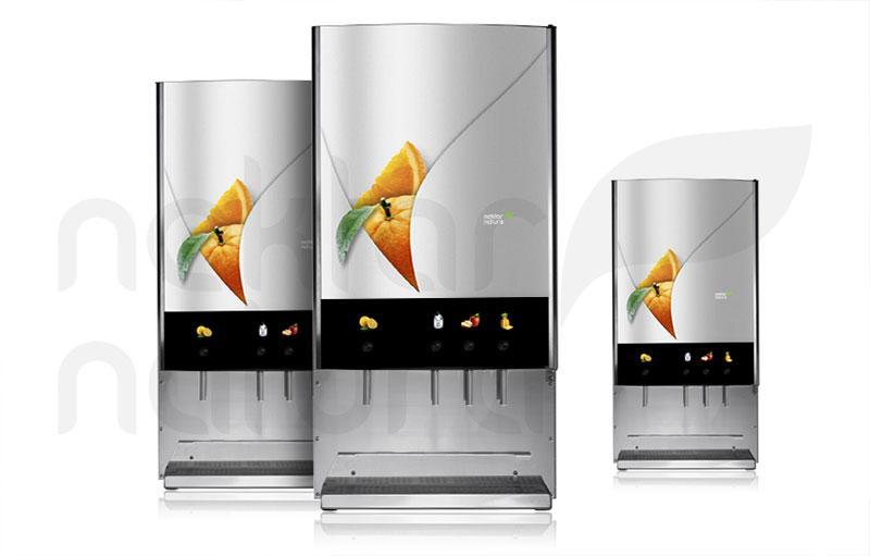 JM13i - točilna naprava za zajtrk - 3 sadni/zelenjavni okusi in prečiščena sveža voda