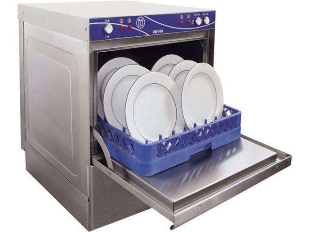 DW-500 UNDERCOUNTER DISHWASHER - 50x50cm Basket - 500 Dishes / Hour Washing Capacity