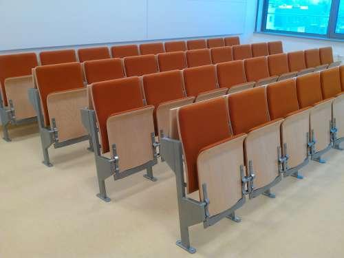 Auditorium Stuhl
