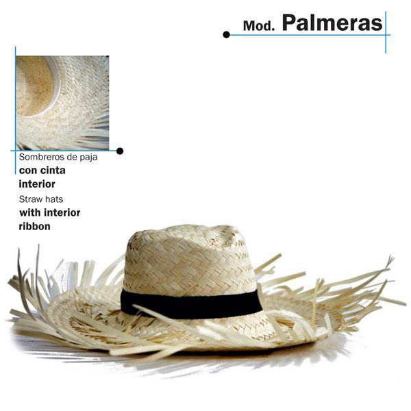 Chapéu de palha - Modelo Palmeras