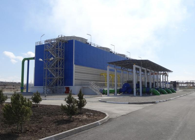 Induced Draft Cooling Tower - Wet Cooling