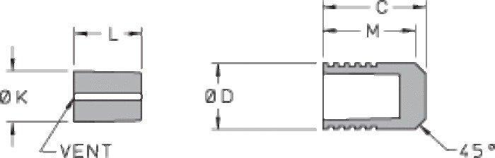 Ø 406 Stainless Steel Lee Plug® - Short Style - null