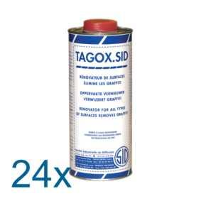 TAGOX.SID ct 24 x1 L flacon 1 litre - Rénovateur de surfaces anti-graffiti