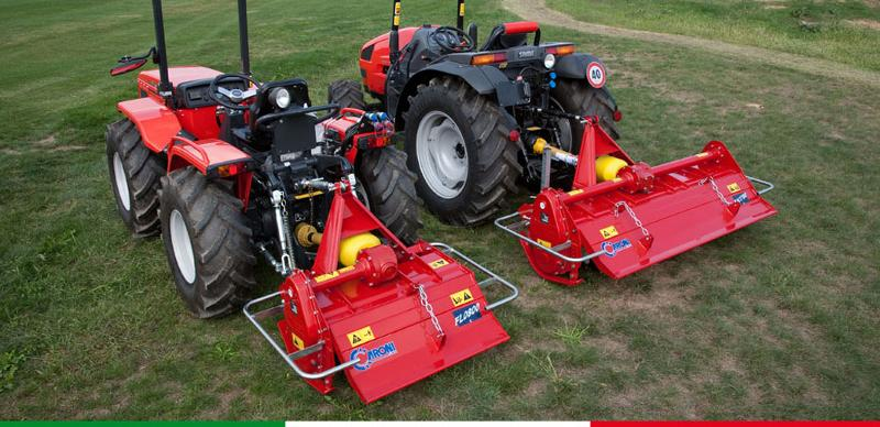 ROTARY TILLERS: FL AND FM SERIES