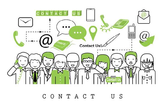 Centre de contacts multicanal