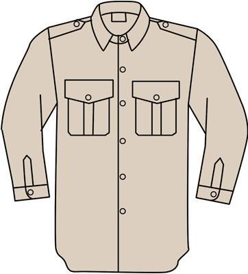 140G PILOT SHIRT FR - Suits Bodywear