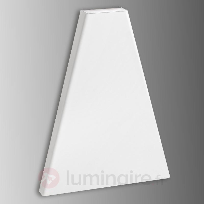 Applique LED plate Lania - IP44 blanc - Appliques LED