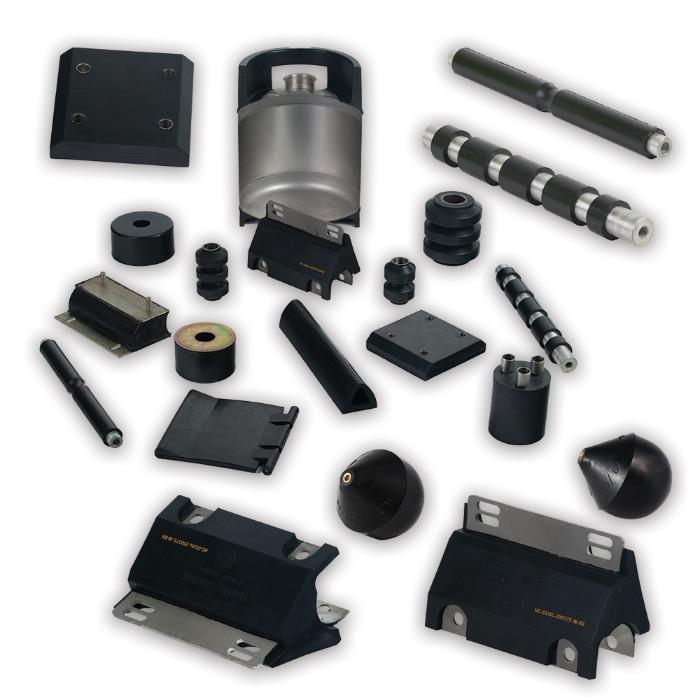 Custom made Rubber metal products  - Customized Rubber Metal Parts