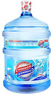 Артезианская питьевая вода, бутыль 19 литров