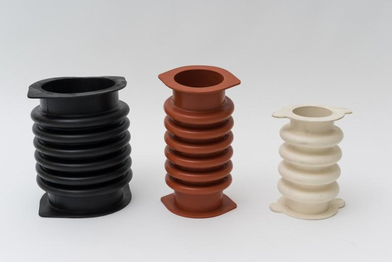 Sweco® rubber sleeves in EPDM - Sleeves developed for SWECO® gyratory and vibratory equipment.