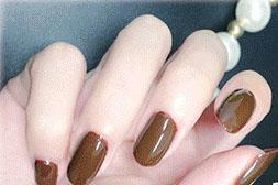 Cosmetics - 10# Chocolate color nail