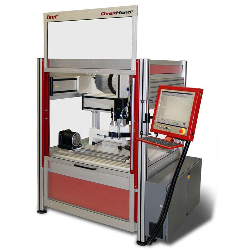 OverHead® CNC-Milling Machine - CNC milling machine for large travels with small space requirements!
