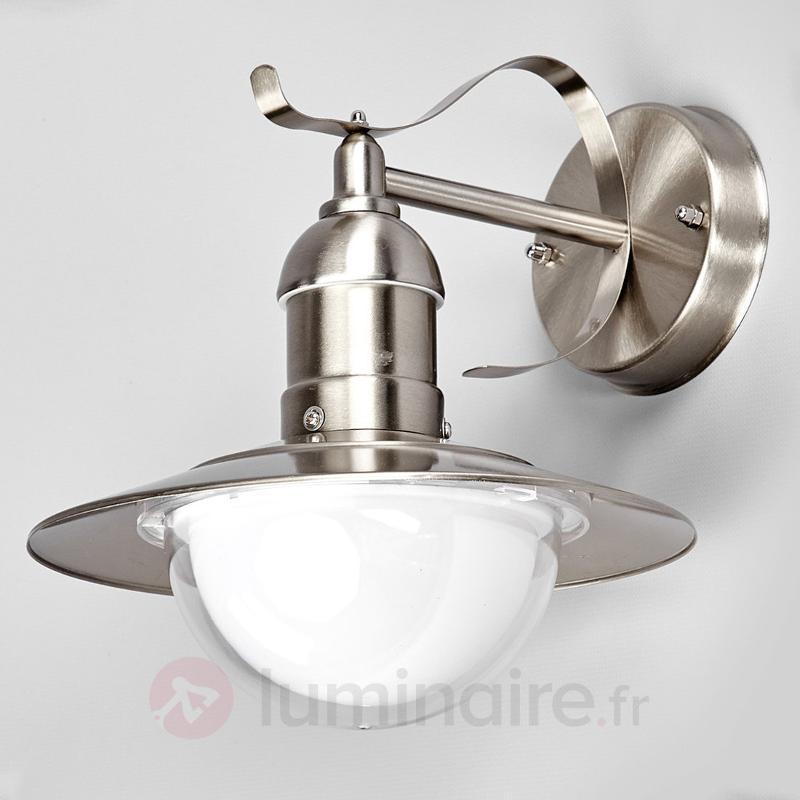Applique d'extérieur LED Clea en inox - Appliques d'extérieur LED