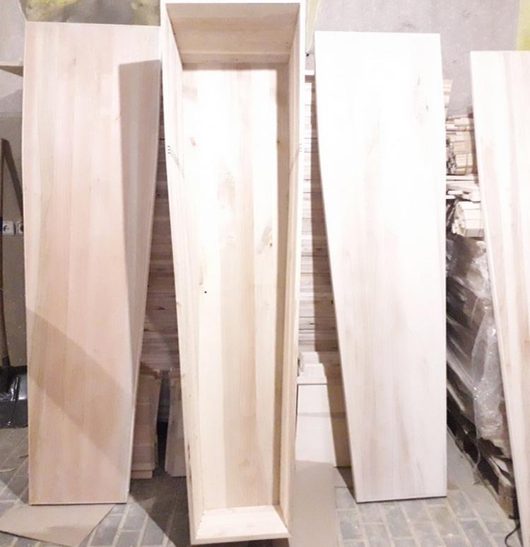 Гробы деревянные европейского типа - кремационные гробы, гробы