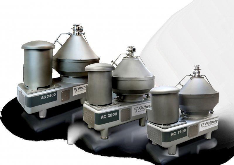 Separatore - Il separatore per la separazione meccanica e la chiarificazione di liquidi