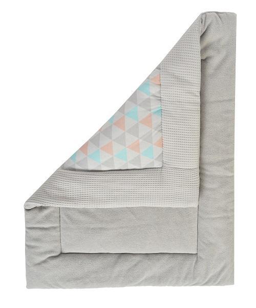Multifunctional mat, playpen mat - boxkleed, mat for children, waffel fabric