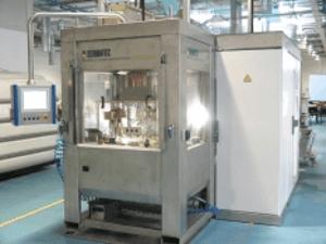 Machine ECM à plateau rotatif