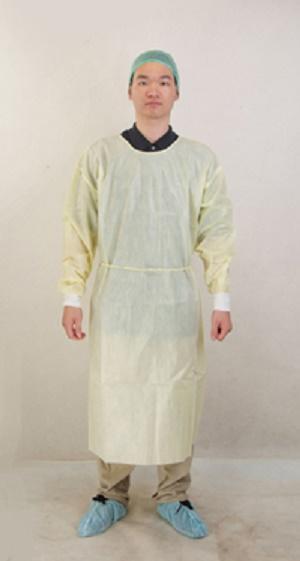 Vestido de aislamiento recubierto PE de Ropa del cuerpo de p - EM-BW-PIG-1