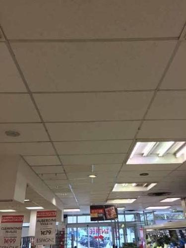 renovation peinture  - plafonds entreprises