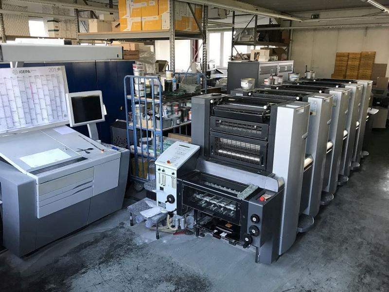 Heidelberg SPEEDMASTER SM 52-5 - Used Machine