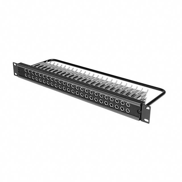 "CONN PATCHBAY 48JACKS 1.75"" - Switchcraft Inc. MT48FNX"