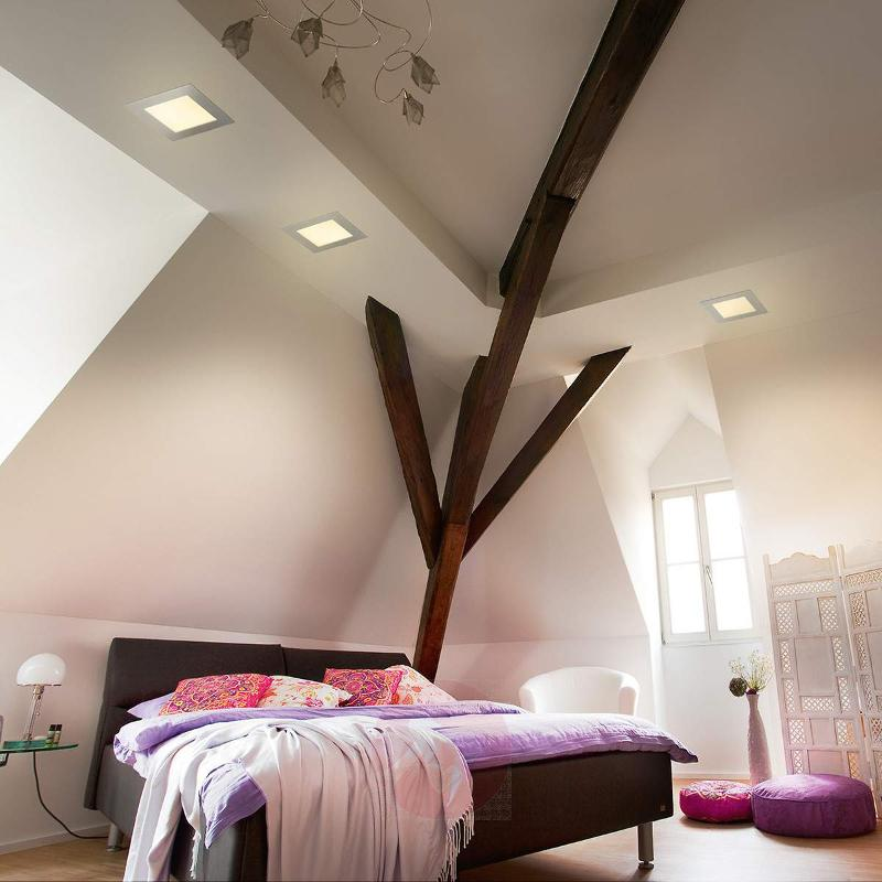 York installed light with LED, warm white - Recessed Spotlights