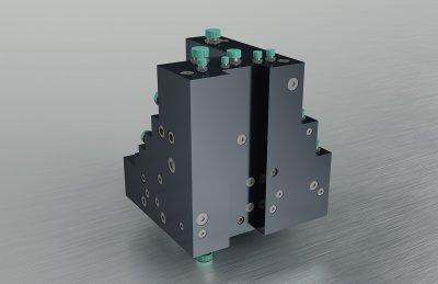 Hydraulikblock - Verteilerblock CNC Zentrum