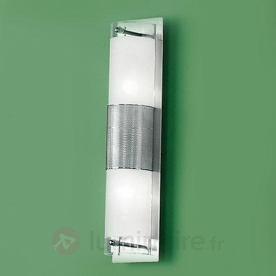 Elégante applique mur miroir SATIN - Salle de bains et miroirs