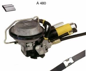 Staalbandomsnoering - Staalbandomsnoerings- apparaat A480