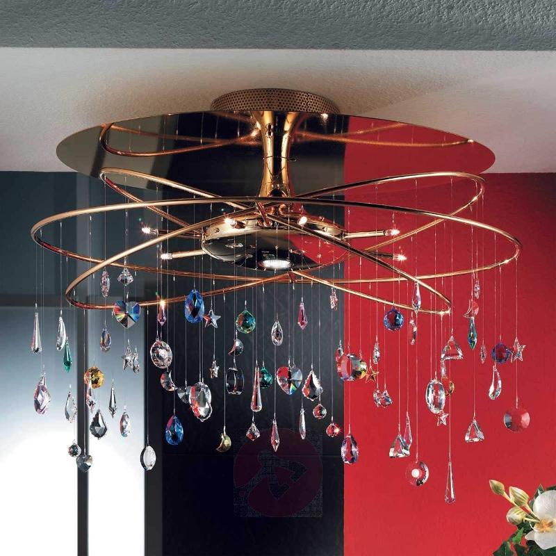 Feng Shui Ceiling Light Large Crystal Decorations - Ceiling Lights