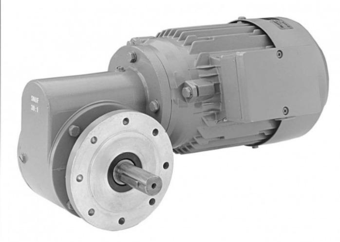 SN8F - Single-stage gear drive with solid shaft