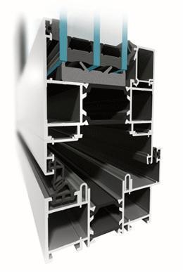 folding-systems aluprof mb-86-fold-line - aluminium-joinery