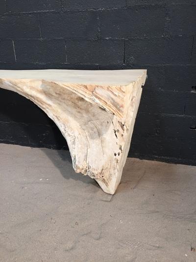console en bois flott consoles en bois flotte deco. Black Bedroom Furniture Sets. Home Design Ideas