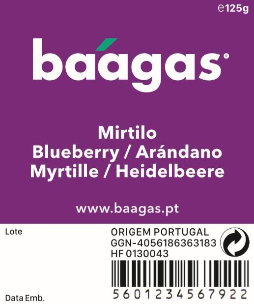 Blueberries/Mirtilo - baagas