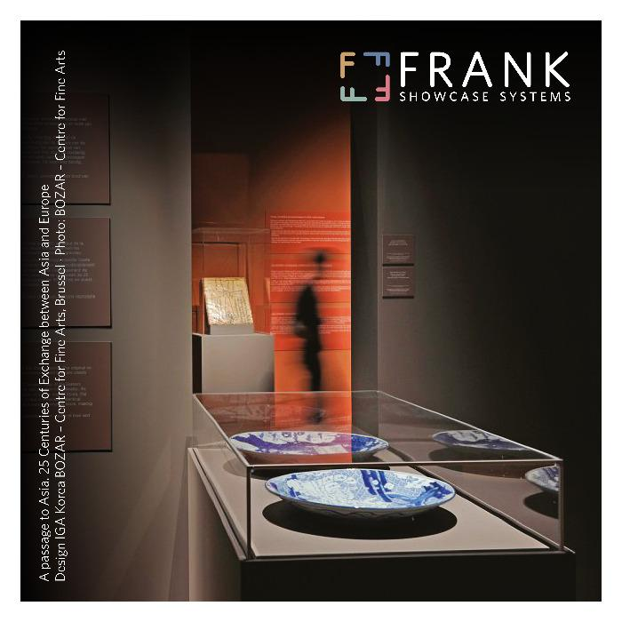 FRANK Showcase - ACRYLIC // The acrylic showcase - The perfect solution for museums and permanent and temporary exhibitions