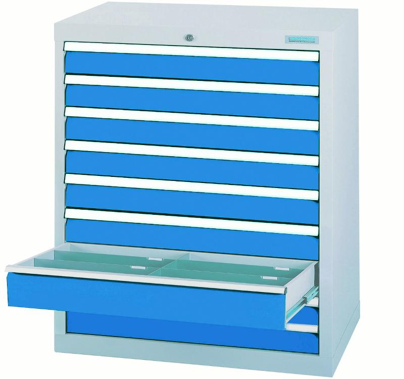 Drawer cabinet with 9 drawers, full extension - 90.900A