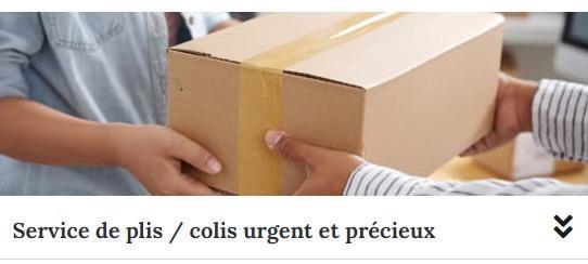 Plis et colis Urgents - Livraisons colis et plis urgents