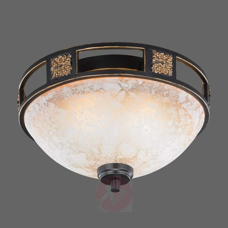 Caecilia ceiling light with antique design, 33 cm - Ceiling Lights