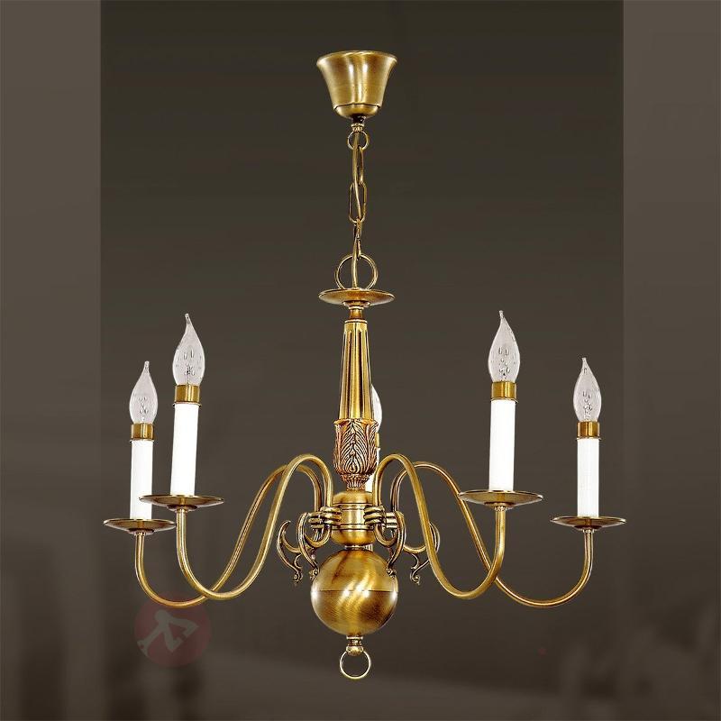 Lustre à 5 lampes HOLANDESAS - Lustres classiques,antiques
