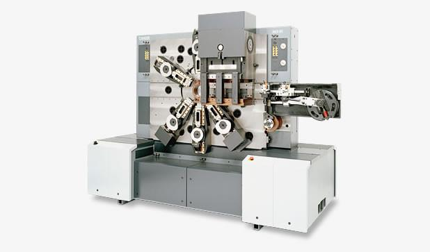 Multi-slide machine - MCS 05 - Highspeed multi-slide machine MCS 05 with two processing faces