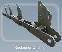 Reclaimer chains - Conveyor chains and components