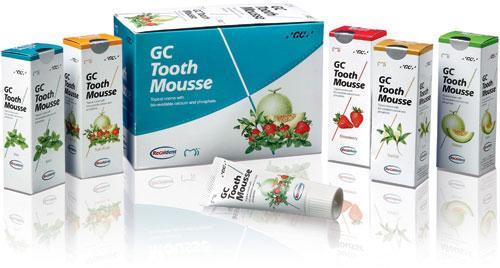 GC Tooth Mousse - Crème à base d'eau contenant du Recaldent™ CPP-ACP