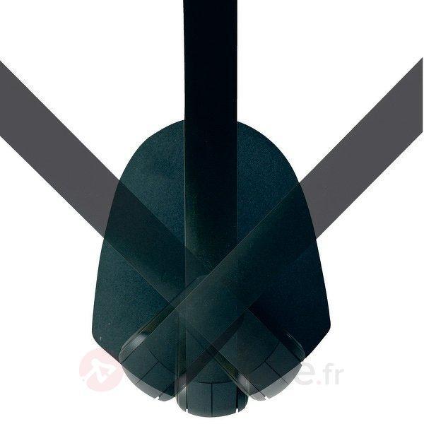 Lampe à poser DUO noir avec socle - Lampes de bureau